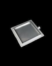 Balneo dwustronny odpływ liniowy SQ-Drain kwadratowy 15x15cm