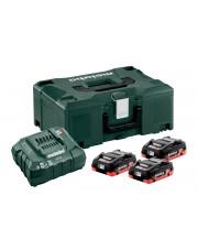 Metabo zestaw akumulatorowy podstawowy LiHD 18V 685133000