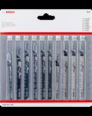 Bosch zestaw brzeszczotów do wyrzynarek Wood 10-elementowy 2607011169