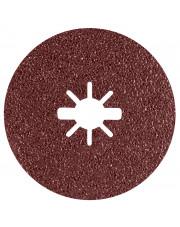 Bosch krążek ścierny Prisma Ceramic Fibre Disc R781 Metal 125x22,23mm G60 z systemem X-Lock 25 sztuk 2608621795