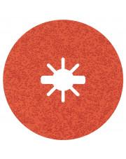 Bosch krążek ścierny Prisma Ceramic Fibre Disc R782 Inox 125x22,23mm G36 z systemem X-Lock 25 sztuk 2608621824