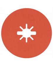 Bosch krążek ścierny Prisma Ceramic Fibre Disc R782 Inox 125x22,23mm G60 z systemem X-Lock 25 sztuk 2608621825