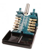 Makita zestaw skrętnych końcówek wkrętakowych z magnetyczną tuleją Ultra Mag do końcówek Impact Gold 11-elementowy B-28597