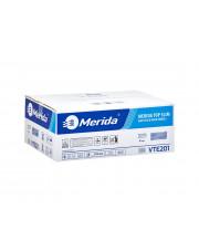 Merida ręczniki składane dwuwarstwowe Top Slim białe VTE201