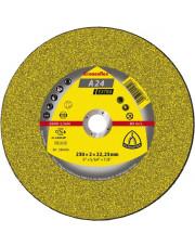 Klingspor tarcza do cięcia A24 Extra Kronenflex 125x3,2x22,23mm 209016