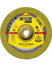 Klingspor tarcza do szlifowania A24 Extra Kronenflex 180x6x22,23mm 231862
