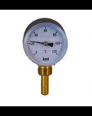 Termometr tarczowy okrągły radialny TBR 63 pionowy 1/2