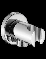 Laveo przyłącze kątowe Rondo z uchwytem na słuchawkę NPX060O