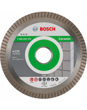 Bosch diamentowa tarcza tnąca Best for Ceramic Extra-Clean Turbo 125x22,23x1,4x7mm 2608602479