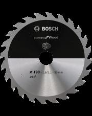 Bosch tarcza pilarska Standard for Wood 190x30mm do piły tarczowej bezprzewodowej 2608837708
