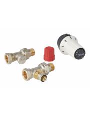 Danfoss zestaw termostatyczny Panda RAS-C RA-N RLV-S DN15 prosty 013G5164
