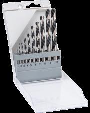 Bosch 10-częściowy zestaw wierteł spiralnych HSS PointTeQ 2608577348