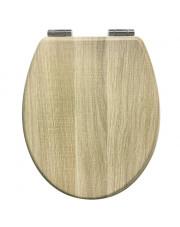 AWD Interior deska sedesowa wolnoopadająca w kolorze naturalnego drewna AWD02181702