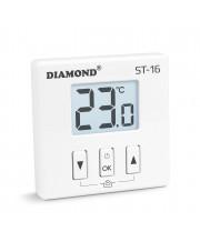 Diamond bezprzewodowy regulator temperatury dobowy ST-16