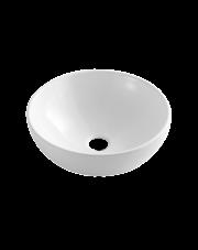 Invena umywalka nablatowa Dokos biały połysk CE-19-011