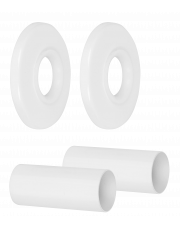 Diamond zestaw maskujący grzejnikowy biały ART.441.ZEST.MASK.B