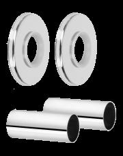 Diamond zestaw maskujący grzejnikowy chrom ART.441.ZEST.MASK.CH