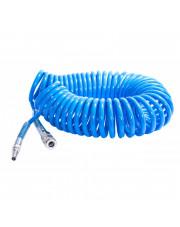 Magnum przewód pneumatyczny spiralny Light Blue 12x8mm 5m