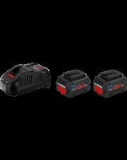 Bosch zestaw akumulatorowy ProCore z ładowarką 2x5.5Ah 18V 1600A0214C