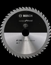 Bosch tarcza pilarska do piły tarczowej bezprzewodowej Standard for Wood 190x1,6/1,1x30mm 2608837710