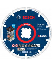 Bosch tarcza szlifierska diamentowo-metalowa z system X-LOCK 125x22,23mm 2608900533