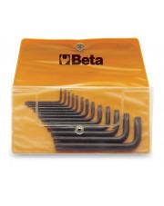 Beta komplet kluczy trzpieniowych kątowych profil TORX BE97TX/B13
