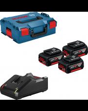 Bosch zestaw 3 akumulatory GBA 18V 5.0Ah + ładowarka GAL 18V-40 0615990L3T
