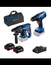 Bosch zestaw narzędzi GBH180 LI + GSR180 LI 0615990M31