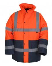 Beta kurtka ostrzegawcza zimowa pomarańczowo-granatowa rozmiar L VWJK05ON/L