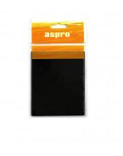 Aspro podkładki filcowe czarne 100x120mm A-40002-05-001
