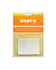 Aspro podkładki żelowe przezroczyste okrągłe 18mm 12sztuk A-40007-10-012