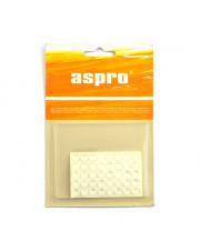 Aspro podkładki żelowe przezroczyste okrągłe 9mm 40sztuk A-40007-10-040