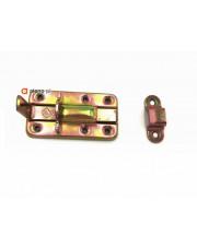 Zasuwka drzwiowa złoty ocynk 80mm