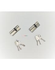 LOB komplet wkładek 30/45 i 30/40 system jednego klucza