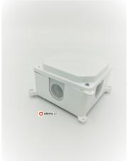 Puszka natynkowa pusta biała PK-2P
