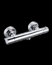 Invena bateria natryskowa termostatyczna Slim chrom BT-00-S01
