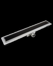 Balneo szklany odpływ liniowy G-drain NEXT DARK 70cm