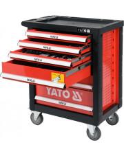 Yato szafka serwisowa GRF z narzędziami 185-elementowa YT-55307