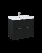 Elita szafka pod umywalkę Look Black Matt 80cm 168106