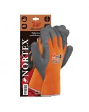 Rękawice powlekane lateksowe Nortex rozmiar 9