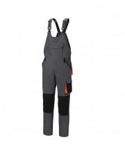 Beta spodnie robocze na szelkach bawełna z domieszką streczu rozmiar XL 7933G/XL