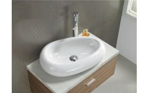 Okrągła czy prostokątna umywalka nablatowa?
