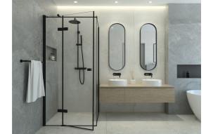 Czarne akcenty w łazience - jak nadać wnętrzu nowego charakteru za pomocą dodatków?